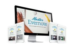 master evernote full mockup