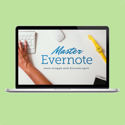 Master Evernote Navigation Image